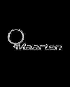 Sleutelhanger Naam - Maarten