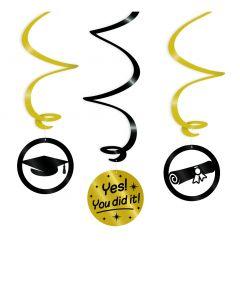 Geslaagd Swirl Decoratie - You Did It!