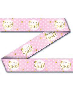 Geboorte Meisje ' it's A Girl' - Party Tape