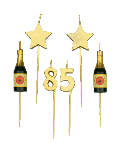 85 Jaar - Taart Kaasrjes Goud