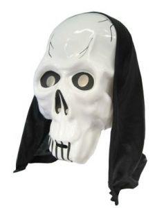 Masker Skelet met Kap