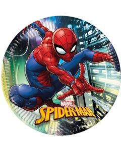 Borden Spiderman - 8 Stuks