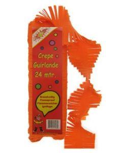 Oranje Crepe Slinger 24 meter