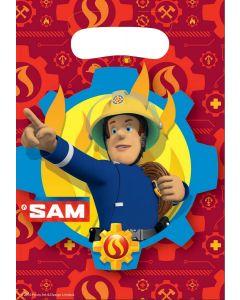 Brandweerman Sam Uitdeelzakjes (8 stuks)