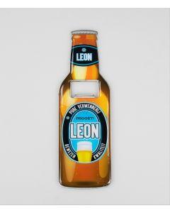 Magnetische bieropener Leon