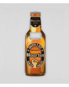 Magnetische bieropener Maarten