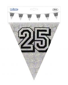 25 Jaar Vlaggenlijn Zilver