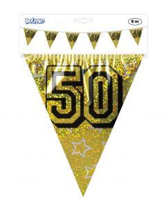 50 Jaar Vlaggenlijn Goud