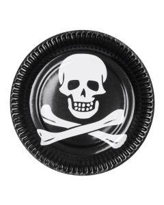 Borden Piraat 6 Stuks