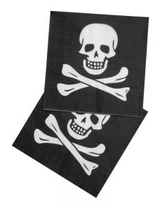 Piraten Servetten 12 Stuks