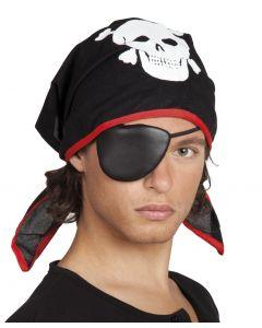 Piraten Bandana Met Ooglapje