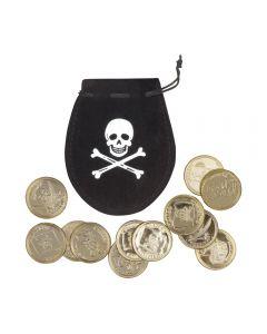 Piratenzakje Met 12 Munten