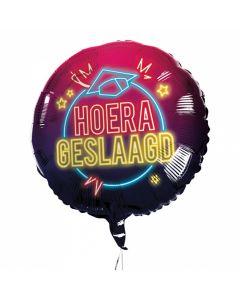 Folieballon Hoera Ik Ben Geslaagd 45CM