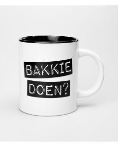 Mok Bakkie Doen Black & White