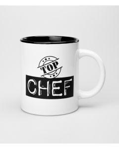 Mok Top Chef Black & White