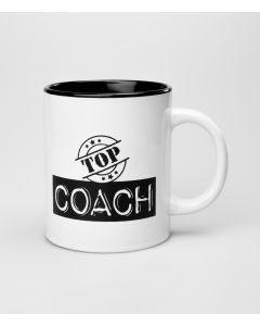 Mok Top Coach Black & White