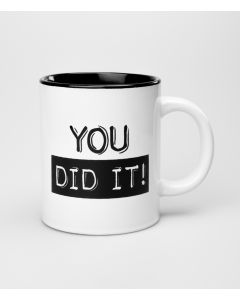 Mok You did it Black & White