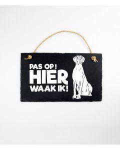 Deense/Duitse Dog - Leisteen Dieren