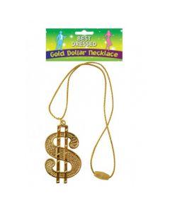 Dollar Ketting Gold
