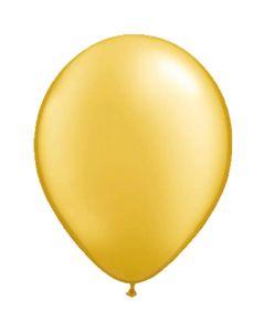 Gouden Metallic Ballonnen 30 CM - 50 Stuks