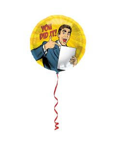 Folieballon Geslaagd You Did It - 45CM
