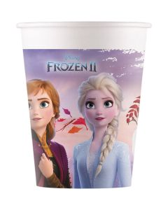 Frozen II Kartonnen bekers 8 stks