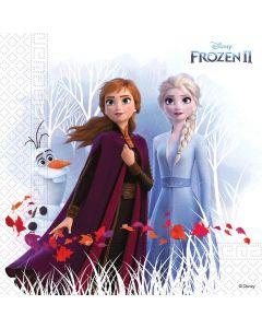 Frozen II Servetten 20 stks