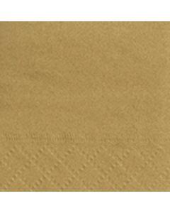 Servetten Goud 33X33 cm