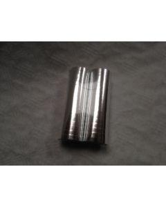 2 Rollen Serpentine Zilver Metallic