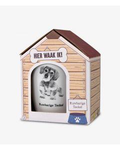 Ruwharige Teckel - Honden Mok