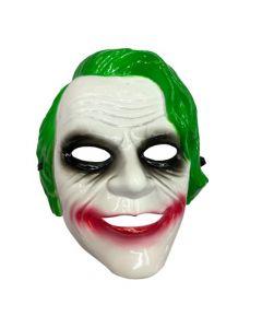 Joker Masker Groen Pvc