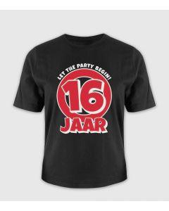 16 jaar T-Shirt