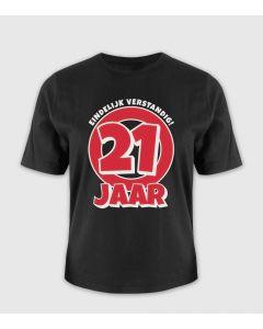 21 jaar T-Shirt