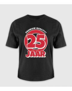 25 jaar T-shirt