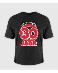 30 jaar T-shirt