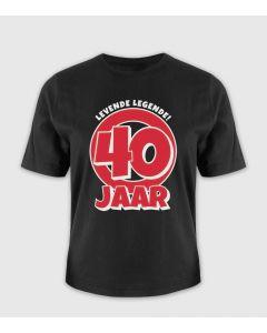 40 jaar T-shirt