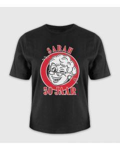 Sarah 50 jaar T-shirt