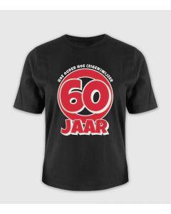 60jaar Leeftijd T-shirt