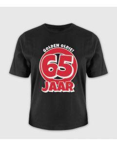65 jaar Leeftijd T-shirt