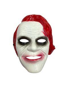 Joker Masker Rood  Pvc