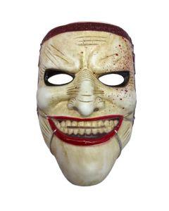 Halloween Masker Scary Johnny Pvc