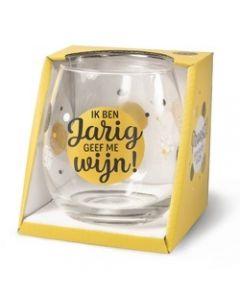 Drinkglas - Jarig