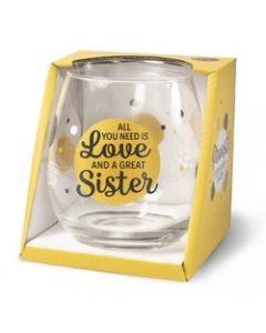 Drinkglas - Sister