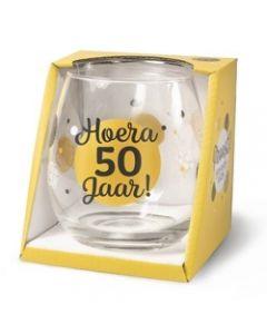 Drinkglas - 50 Jaar