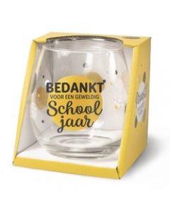 Drinkglas - Schooljaar