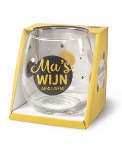 Drinkglas - Ma's Wijn