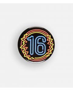 NEON Button 16