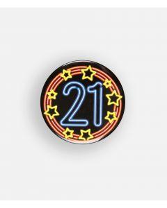 NEON Button 21