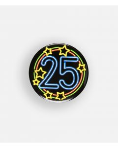 NEON Button 25
