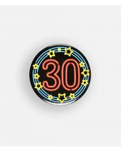 NEON Button 30